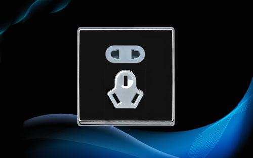 狮盾电气双联单控开关接线图及实物图