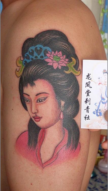 龙凤堂纹身图片展示