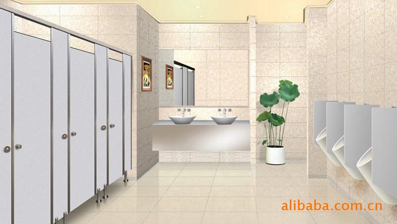 卫生间低隔断小卫生间隔断图片1