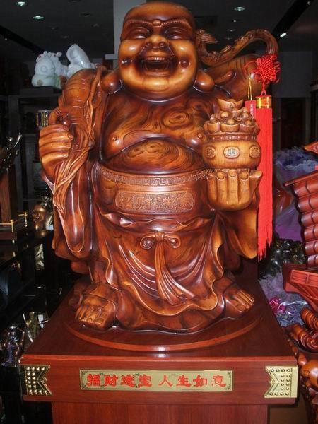 莲峰礼品—木雕