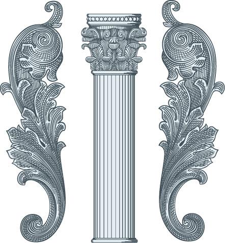 主要生产:欧式,中式建筑装饰造型构件;檐线